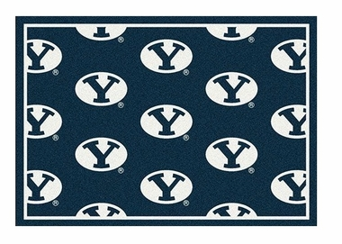 "Brigham Young 3'10"" x 5'4"" Premium Pattern Rug"