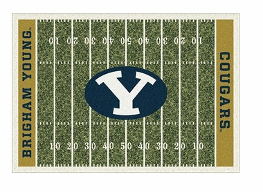"Brigham Young 5'4"" x 7'8"" Premium Field Rug"