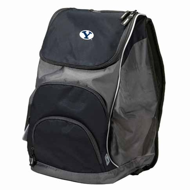 Brigham Young Action Backpack (Color: Black)