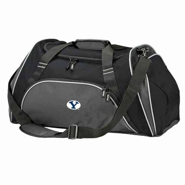 Brigham Young Action Duffle (Color: Black)