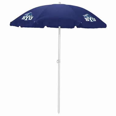 Brigham Young Beach Umbrella (Navy)