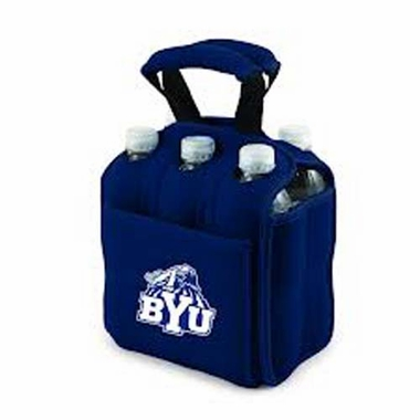 Brigham Young Beverage Buddy (6pk) (Navy)