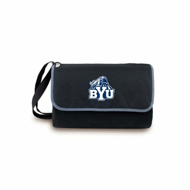 Brigham Young Blanket Tote (Black)