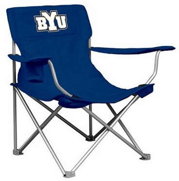 Brigham Young Canvas Adult Folding Logo Chair