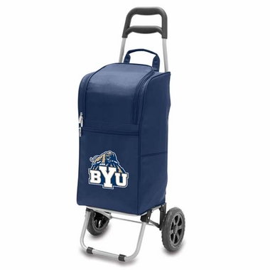 Brigham Young Cart Cooler (Navy)