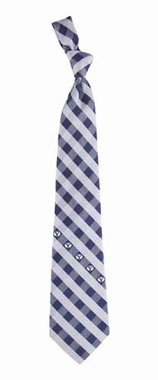 Brigham Young Check Poly Necktie