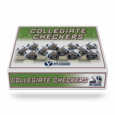 Brigham Young Checkers Set