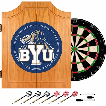 Brigham Young Complete Dart Cabinet