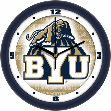 Brigham Young Dimension Wall Clock