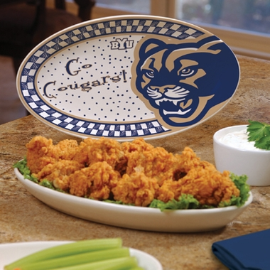 Brigham Young Gameday Ceramic Platter
