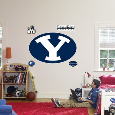 Brigham Young Logo Fathead Wall Graphic