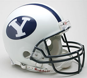 Brigham Young Riddell Full Size Authentic Helmet