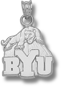 Brigham Young Sterling Silver Pendant
