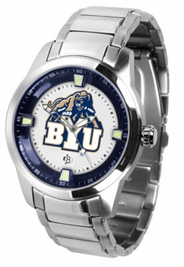 Brigham Young Titan Men's Steel Watch
