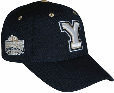 Brigham Young Triple Conference Adjustable Hat