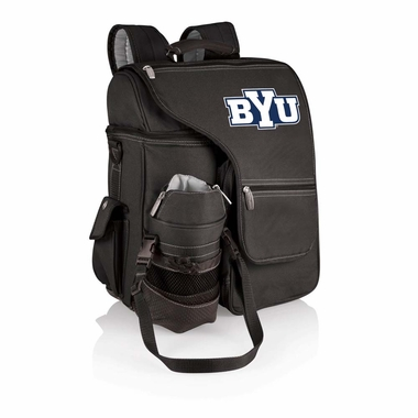 Brigham Young Turismo Embroidered Backpack (Black)