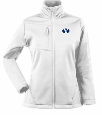 Brigham Young Womens Traverse Jacket (Color: White)