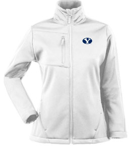 Brigham Young Womens Traverse Jacket (Color: White) - X-Large