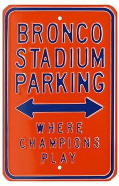 Bronco Stadium Parking