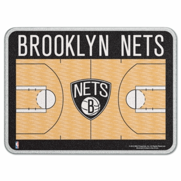 Brooklyn Nets 11 x 15 Glass Cutting Board