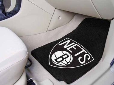 Brooklyn Nets 2 Piece Car Mats