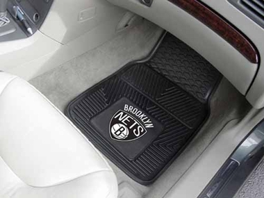 Brooklyn Nets 2 Piece Heavy Duty Vinyl Car Mats