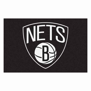 Brooklyn Nets 20 x 30 Rug