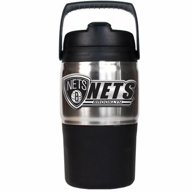 Brooklyn Nets 48oz Travel Jug