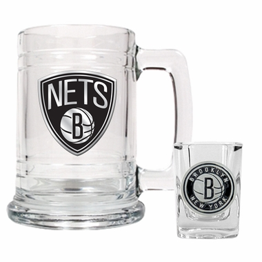 Brooklyn Nets Boilermaker Set