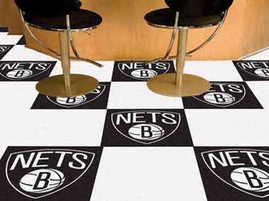 Brooklyn Nets Carpet Tiles