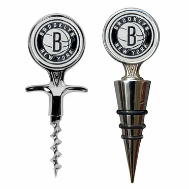 Brooklyn Nets Corkscrew and Stopper Gift Set