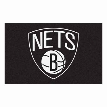 Brooklyn Nets Economy 5 Foot x 8 Foot Mat