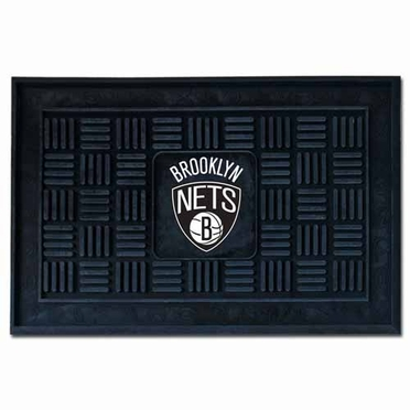 Brooklyn Nets Heavy Duty Vinyl Doormat
