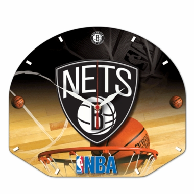 Brooklyn Nets High Definition Wall Clock