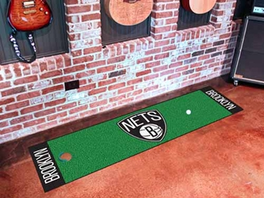 Brooklyn Nets Putting Green Mat