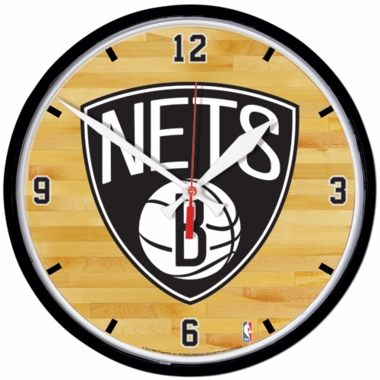 Brooklyn Nets Wall Clock