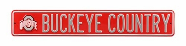 Buckeye Country With Logo Street Sign