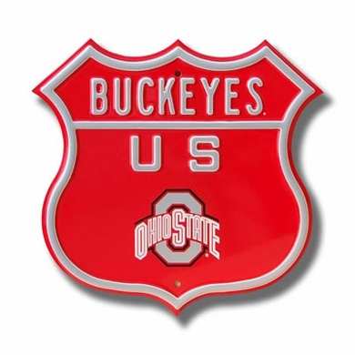 Buckeyes Route Sign