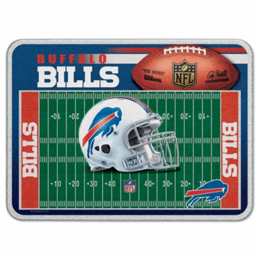 Buffalo Bills 11 x 15 Glass Cutting Board