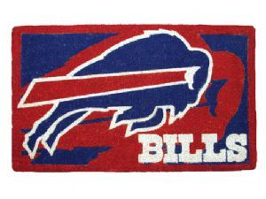 Buffalo Bills 18x30 Bleached Welcome Mat