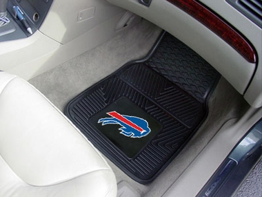 Buffalo Bills 2 Piece Heavy Duty Vinyl Car Mats