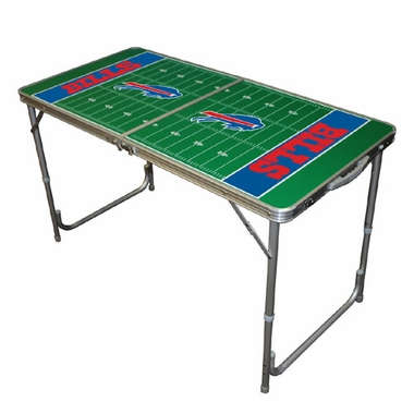 Buffalo Bills 2 x 4 Foot Tailgate Table