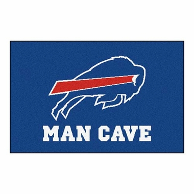 Buffalo Bills 20 x 30 Man Cave Rug