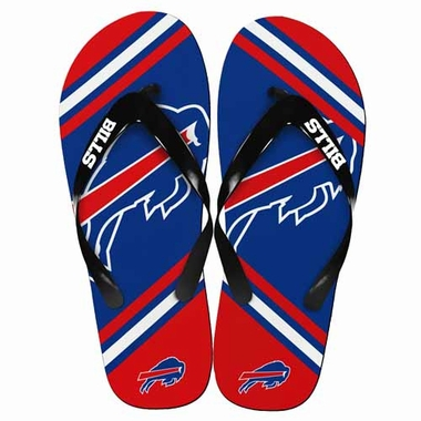 Buffalo Bills 2013 Unisex Big Logo Flip Flops