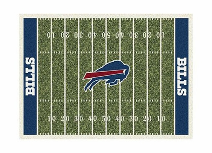 "Buffalo Bills 3'10"" x 5'4"" Premium Field Rug"