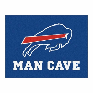 Buffalo Bills 34 x 45 Man Cave Rug