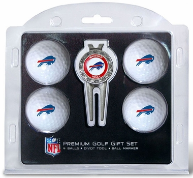 Buffalo Bills 4 Ball and Tool Gift Set