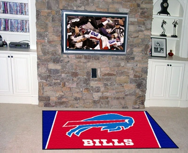 Buffalo Bills 4 Foot x 6 Foot Rug