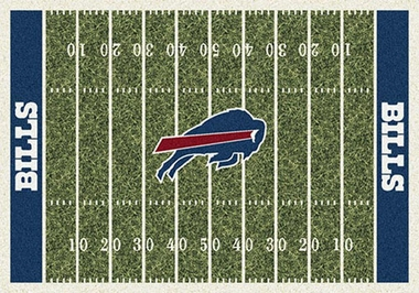 "Buffalo Bills 7'8"" x 10'9"" Premium Field Rug"