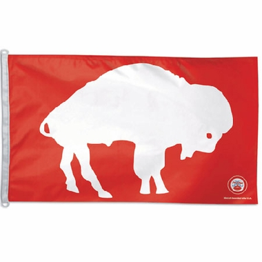 Buffalo Bills Big 3x5 Flag (Throwback)